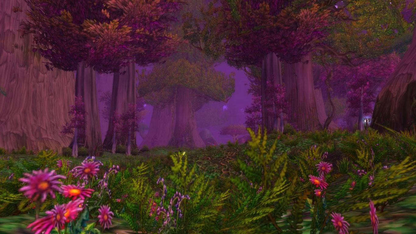 Entertainment Teldrassil Forest Warcraft 153642 Wallpaper wallpaper