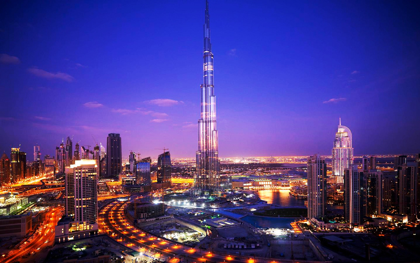 Burj Khalifa Tower Dubai wallpaper