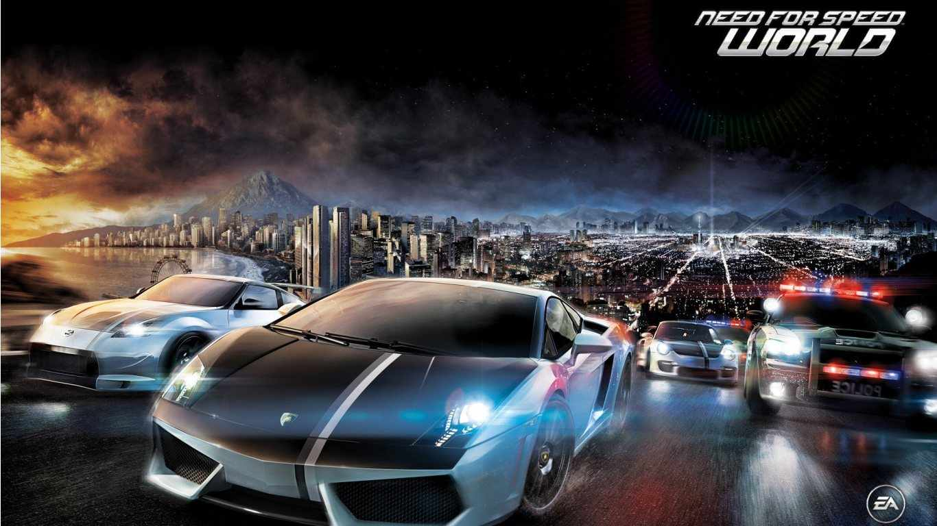Abstract Best Full Hd And Hdtv Collections Cars Need For Speed World 97001 Wallpaper wallpaper