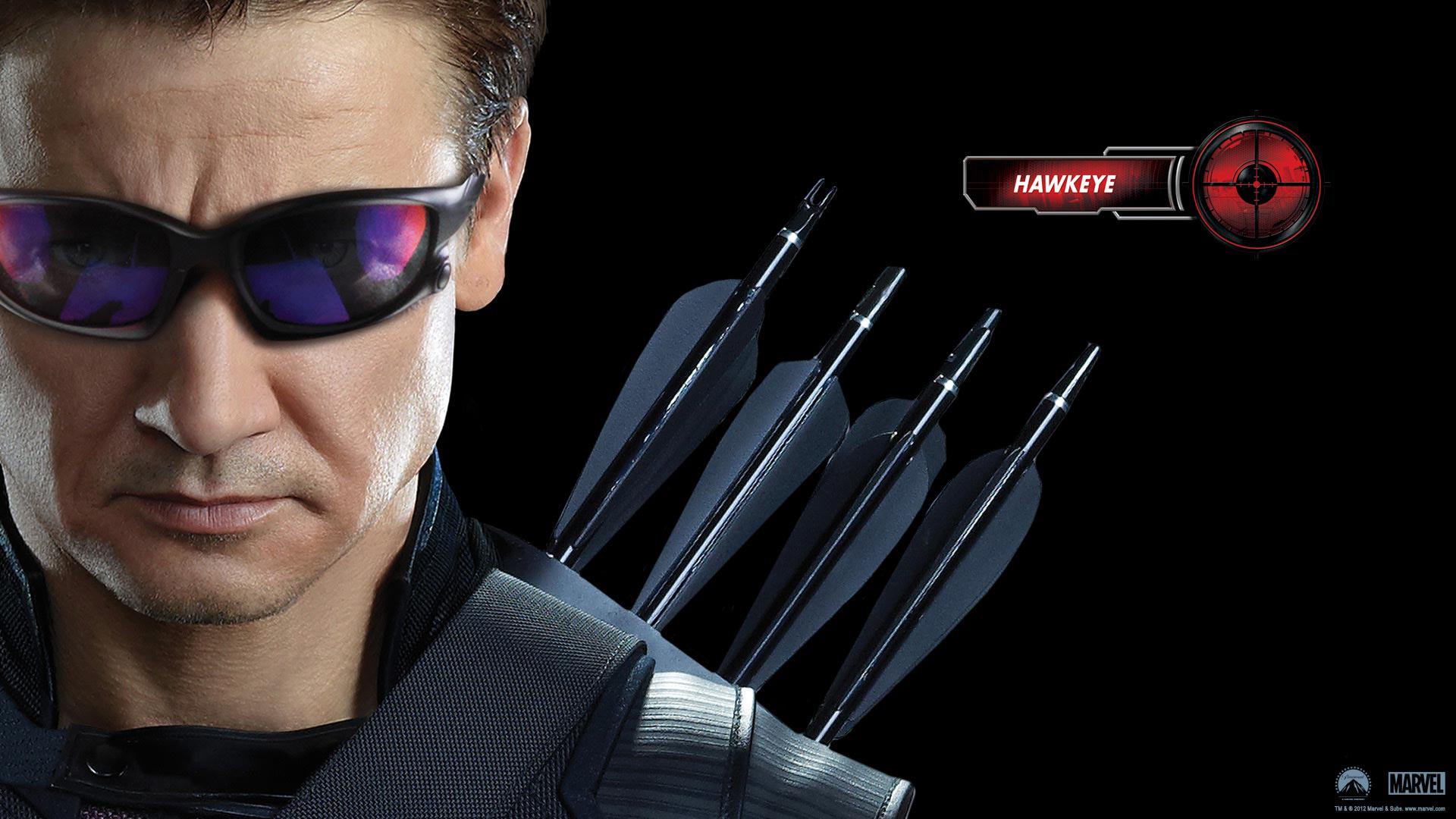 Hawkeye in Avengers Movie wallpaper