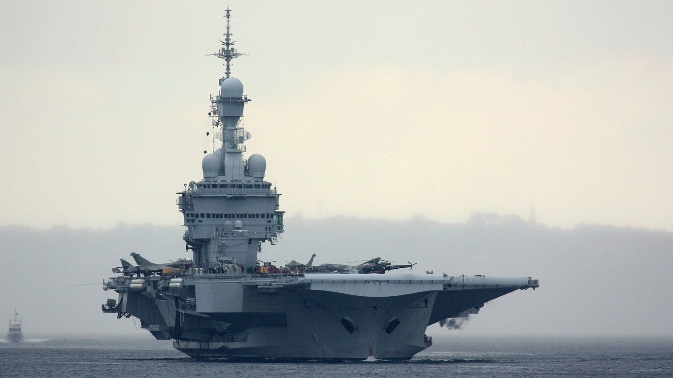 Aircraft Carrier France Charles De Gaulle Ships Large 282473 Wallpaper wallpaper