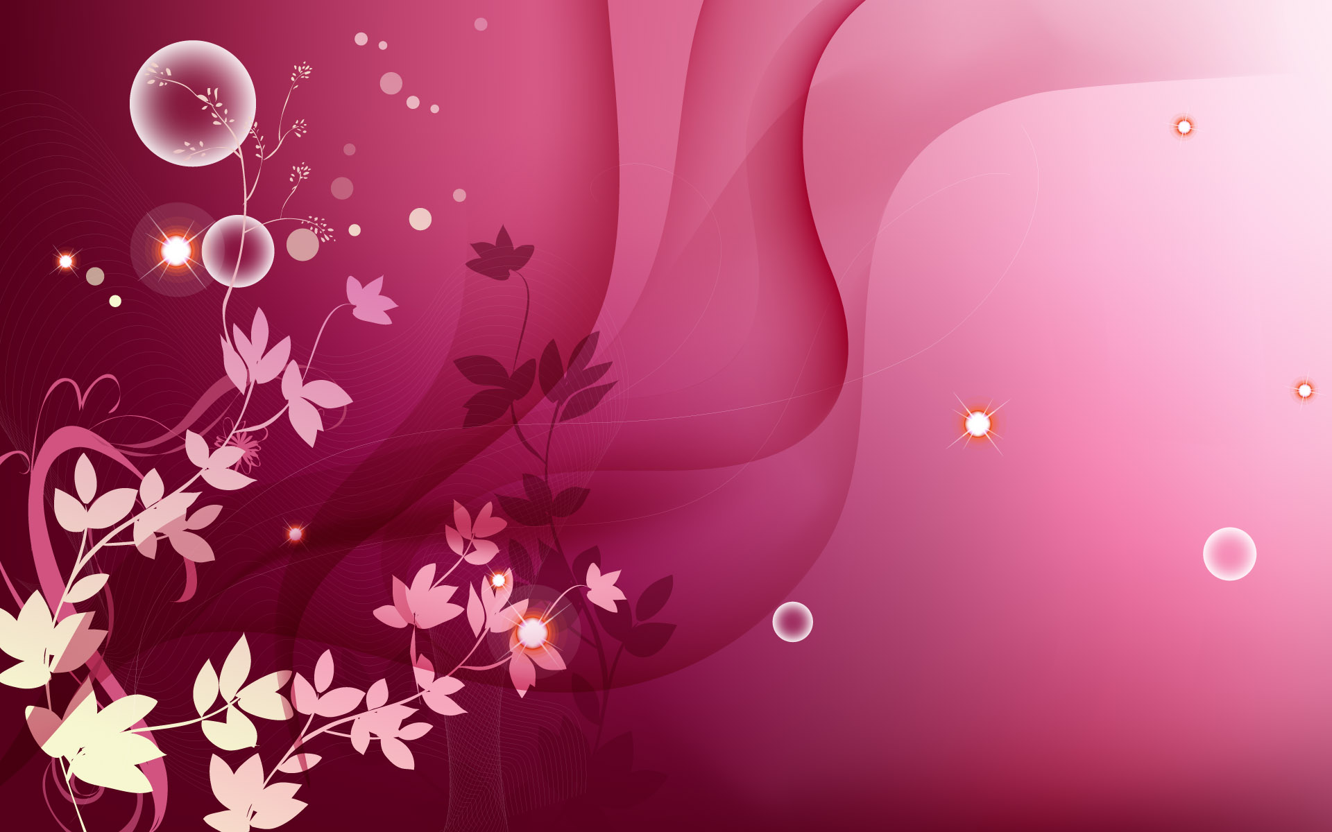 Abstract Flowers Design Hd Photo Of 256269 Wallpaper