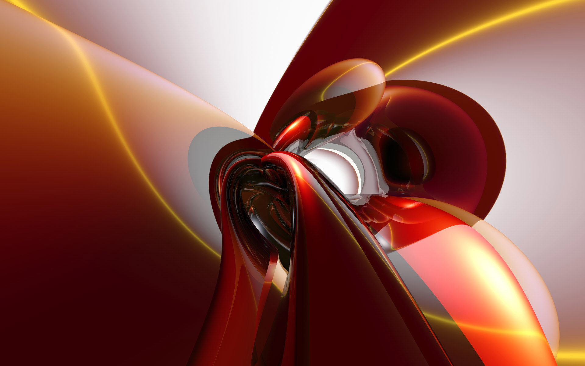 Abstract In Red And White Design 230387 Wallpaper wallpaper