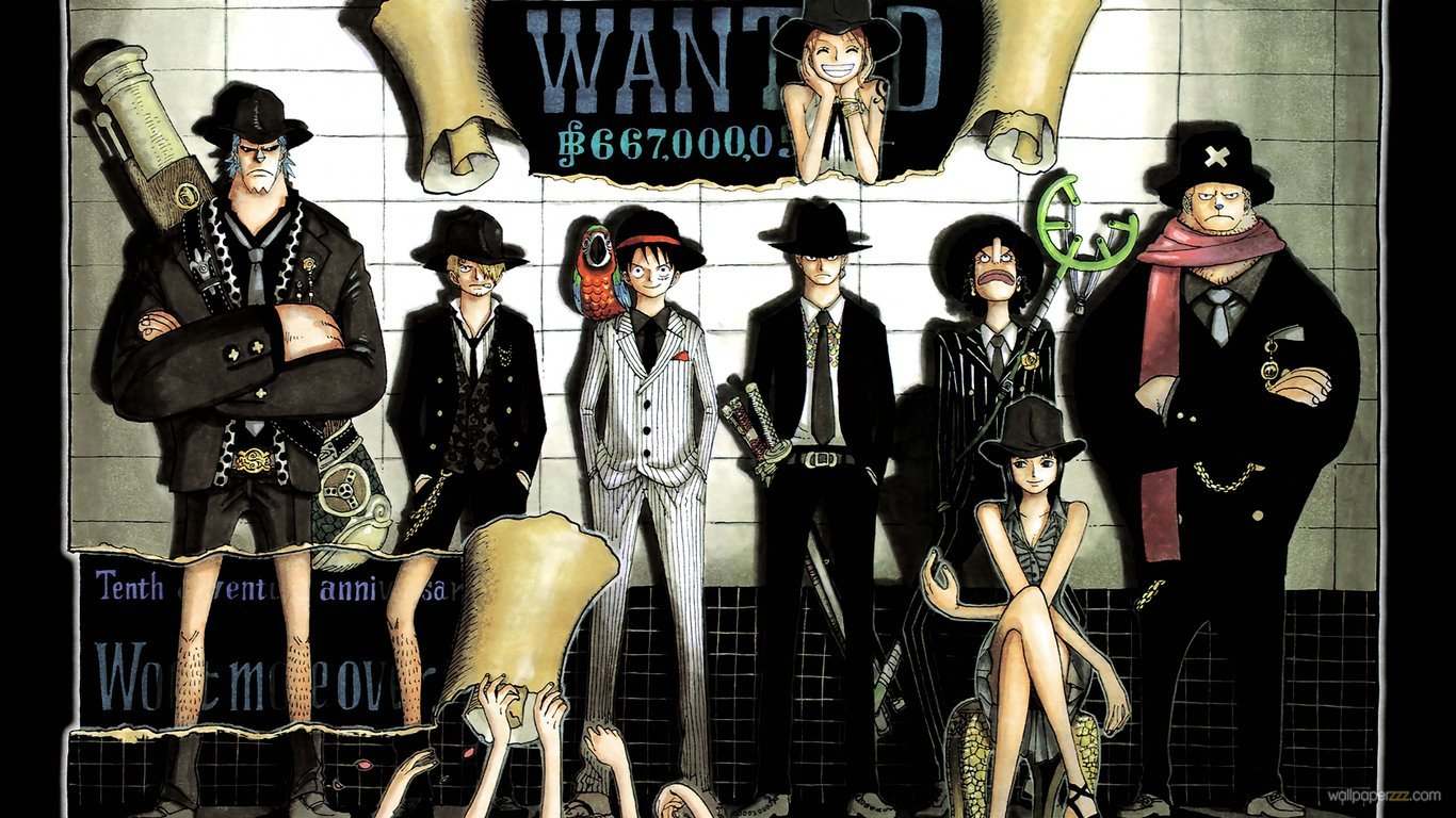 Anime One Piece Wanted Hd 258228 Wallpaper Wallpaper