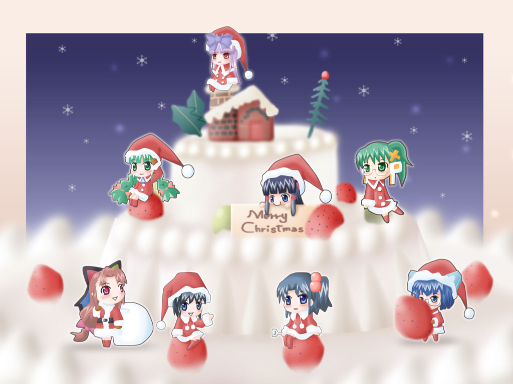 Manga Anime Windows Kerst Desktop 103890 Wallpaper Wallpaper