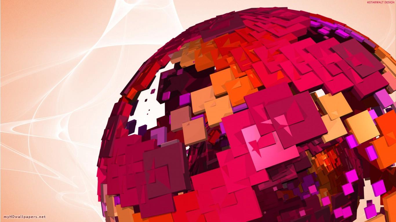 Pink Hd Abstract Globe Free Desktop And New D 183738 Wallpaper wallpaper