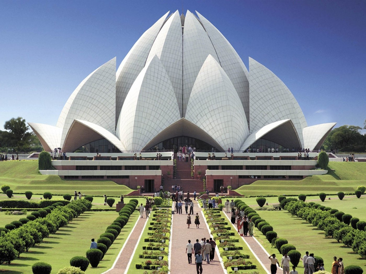 Modern Architecture Wallpaper modern architecture lotus temple hd widescreen 303287 wallpaper
