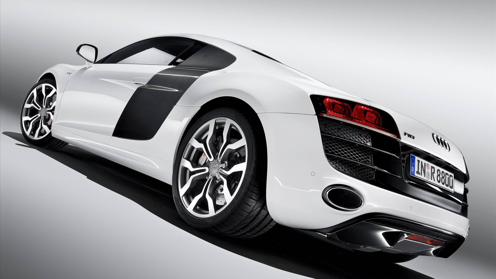 Sport Car R P O White Is Perfect For Collection 159797 Wallpaper Wallpaper