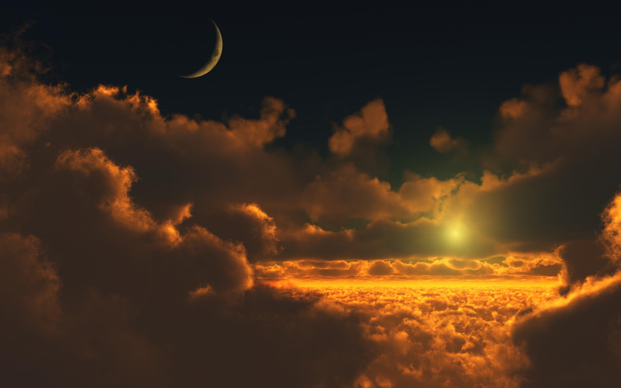 Technology Abstract Golden Cloudscape Iphone Ipad Mac At Slidetostyle 1248711 Wallpaper wallpaper