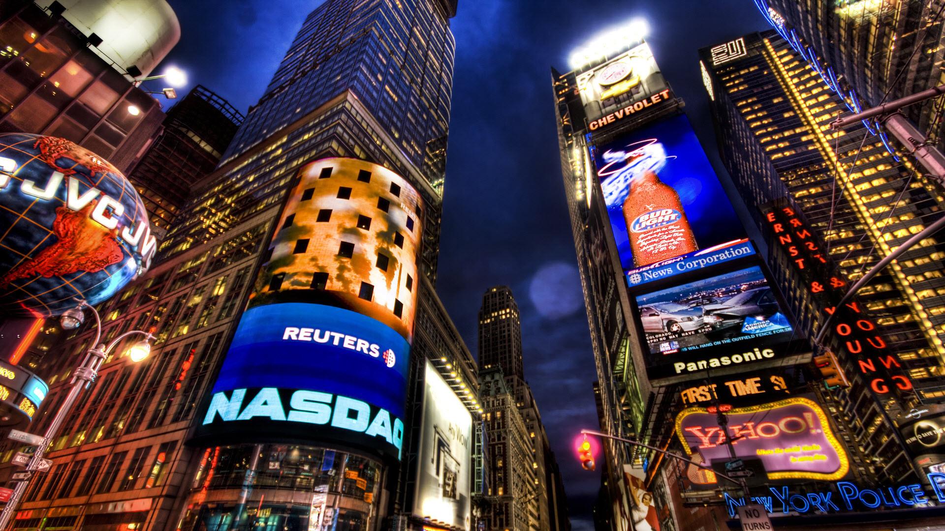 NASDAQ Stock Market New York wallpaper