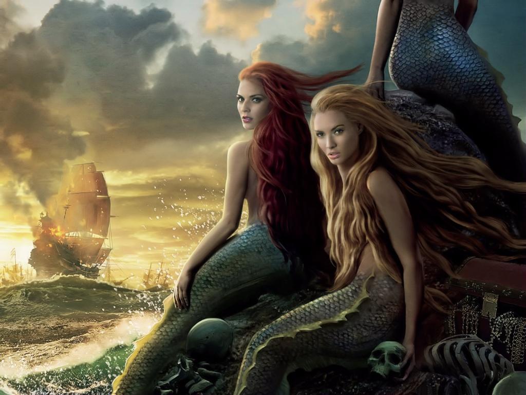 Pirates of the Caribbean On Stranger Tides Mermaids