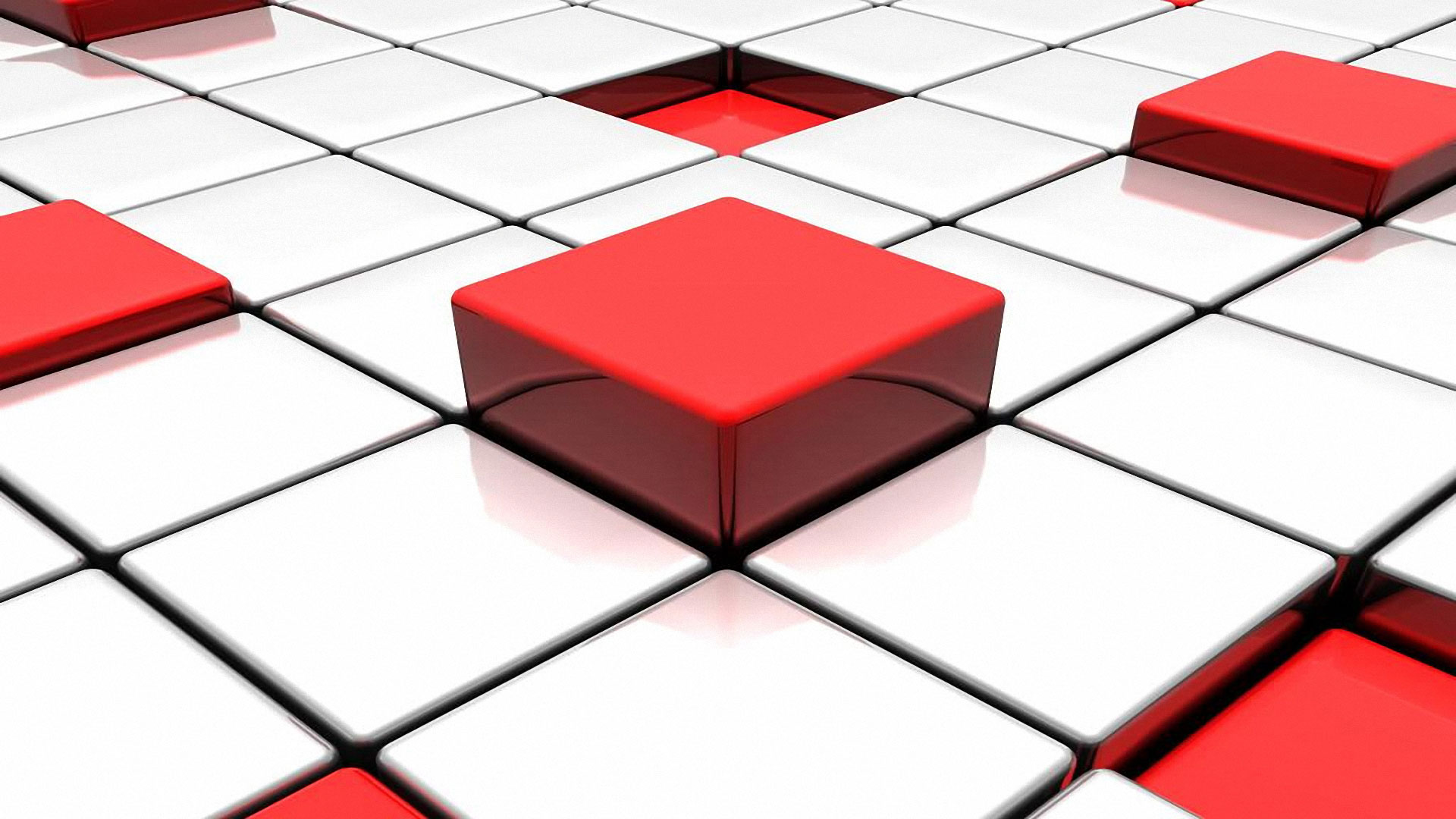 Red Abstract D And White Tiles Free 231631 Wallpaper wallpaper