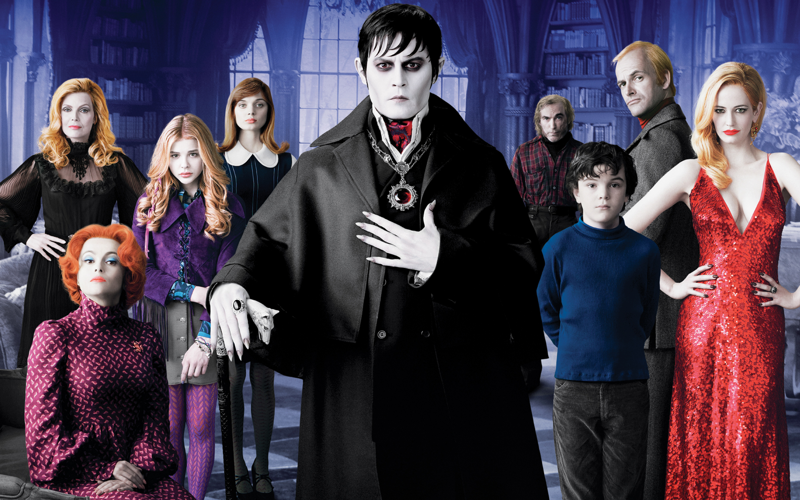 Dark Shadows Movie wallpaper