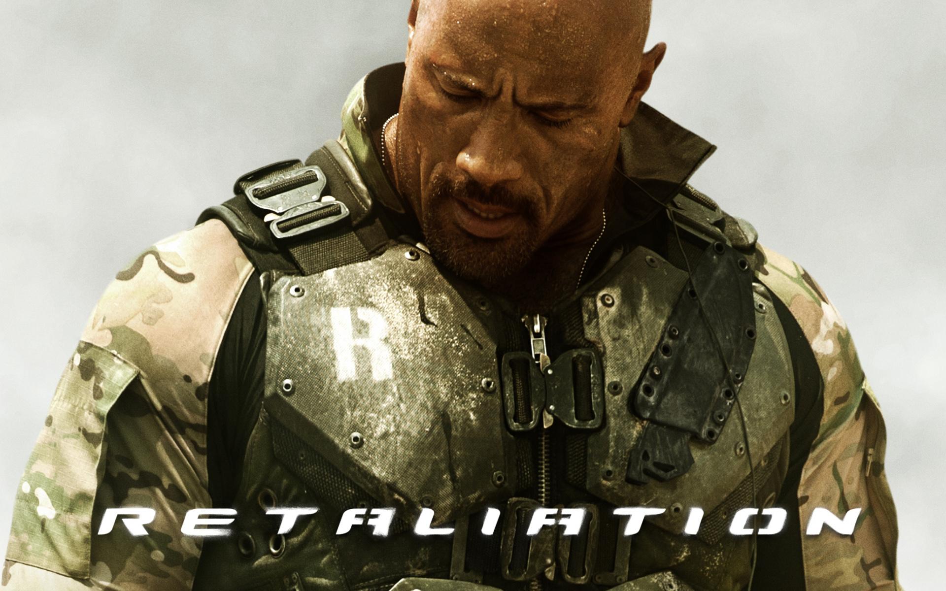 The Rock in GI Joe 2 Retaliation wallpaper