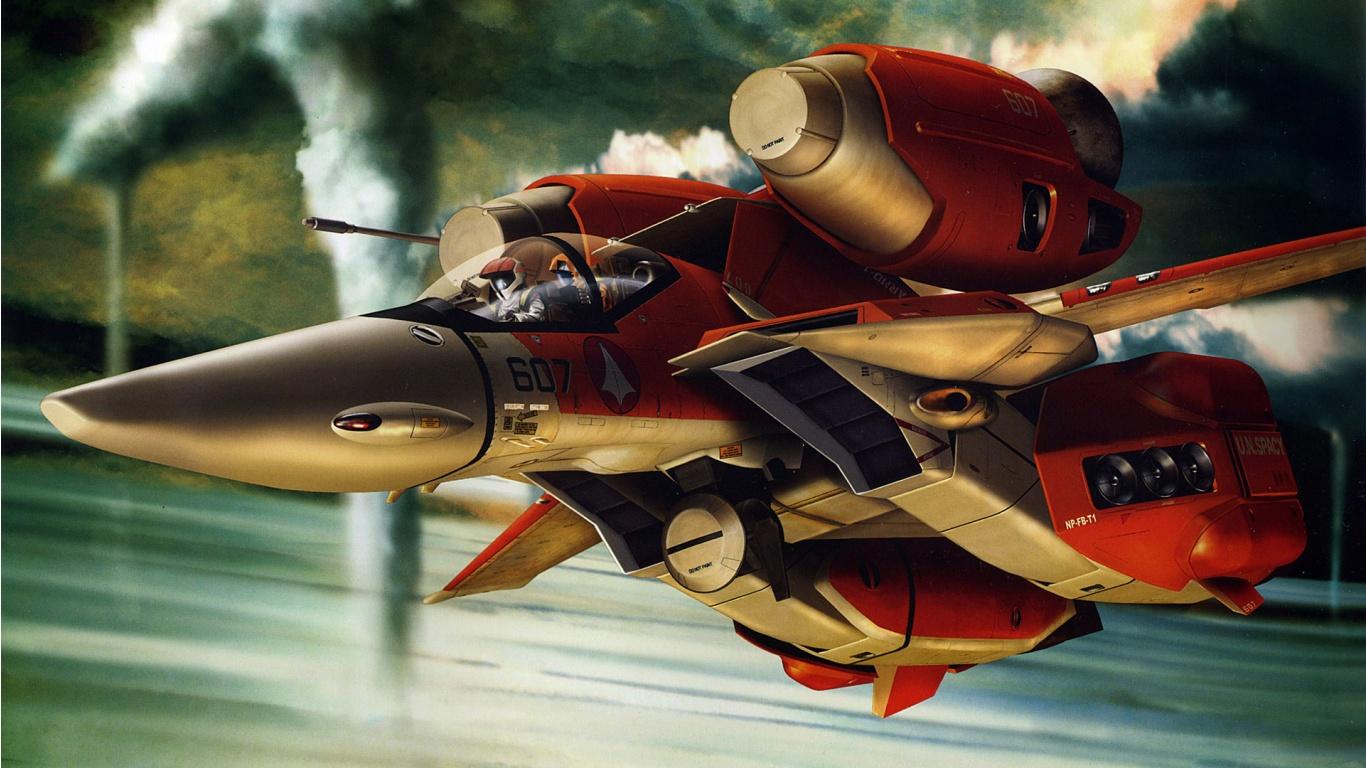 Aircraft Macross In Hd Crunch Com 351201 Wallpaper wallpaper