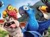 Cartoon Movies Rio Parrot Blue Celebrity And Movie Pictures 806777 Wallpaper wallpaper
