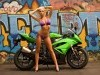 Kawasaki Motorcycles Girl Ninja Fanpop 399668 Wallpaper wallpaper