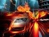 Abstract Graphics Car In Fire City Hq Hd 852369 Wallpaper wallpaper